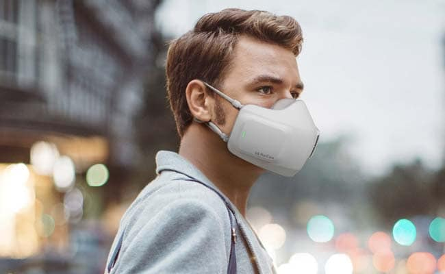 Battery-Powered Face Mask Seeks To Fight COVID And Foggy Glasses -