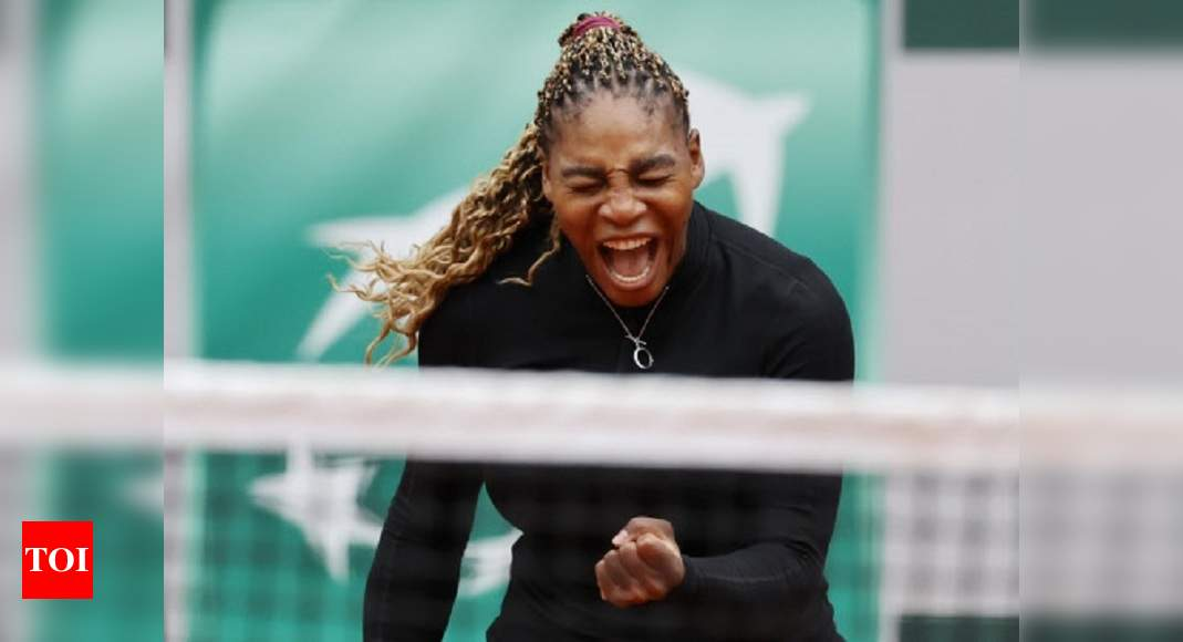 French Open: Serena Williams digs deep to find a way past Ahn into second round