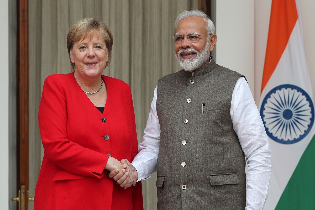 German Chancellor Merkel Wishes Prime Minister Modi on 70th Birthday; Vows to Strengthen Bilateral Ties -