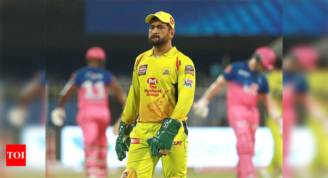 IPL 2020: It's Rajasthan Royals again and Dhoni gets upset with umpire reversing his dismissal decision