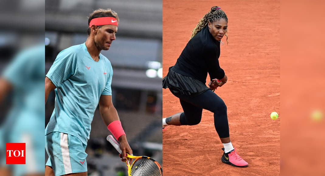 Rafael Nadal, Serena Williams on guard at French Open as Simona Halep plays compatriot