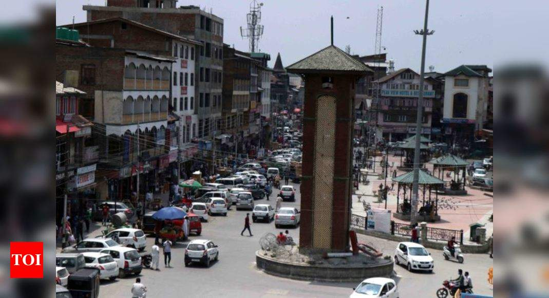 J&K police detain BJP workers trying to hoist national flag at clock tower in Srinagar's Lal Chowk
