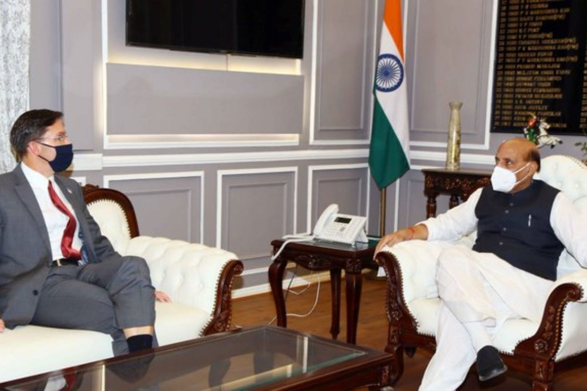 Rajnath Singh Holds Talks with US Defence Minister on Expanding Military Ties Ahead of 2+2 Dialogue -