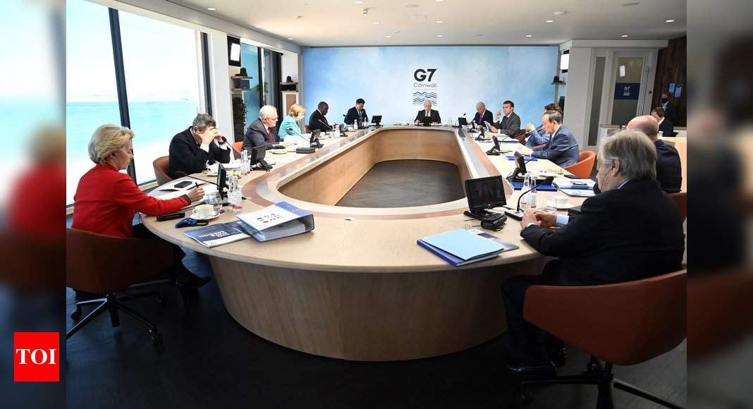 G7 leaders discuss Wuhan lab leak theory behind Covid-19 pandemic | India News - Times of India -